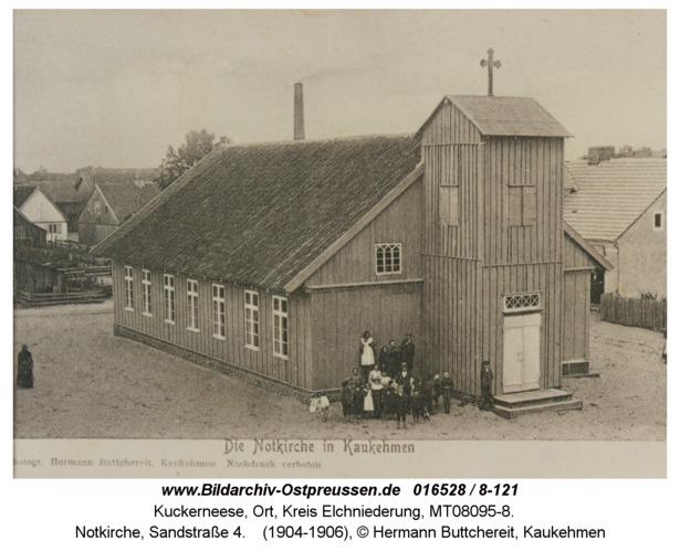 Kuckerneese, Notkirche, Sandstraße 4