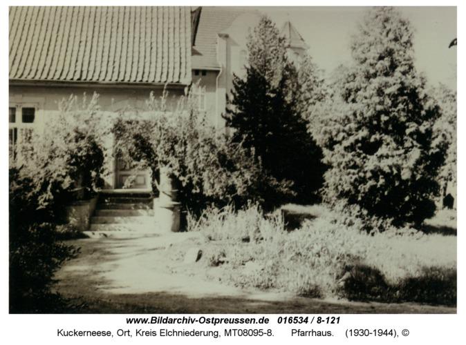 Kuckerneese, Pfarrhaus