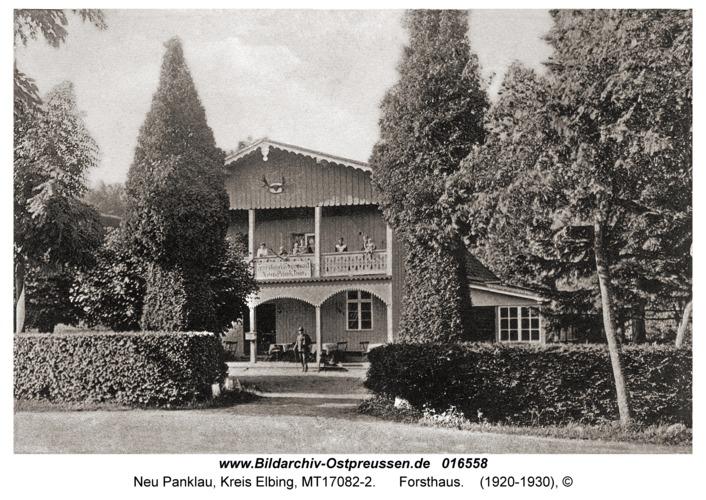 Neu Panklau, Forsthaus