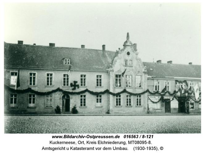 Kuckerneese, Amtsgericht u Katasteramt vor dem Umbau