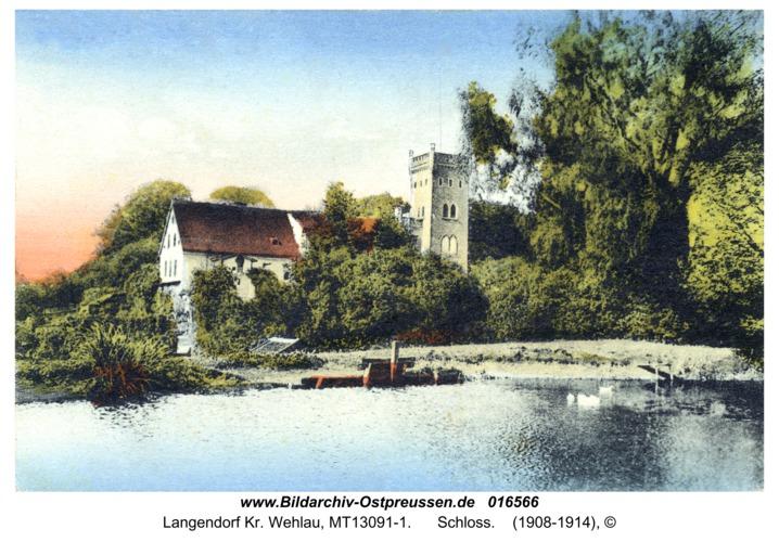 Langendorf Kr. Wehlau, Schloss