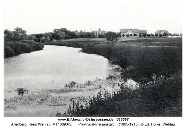 Allenberg, Provinzial-Irrenanstalt