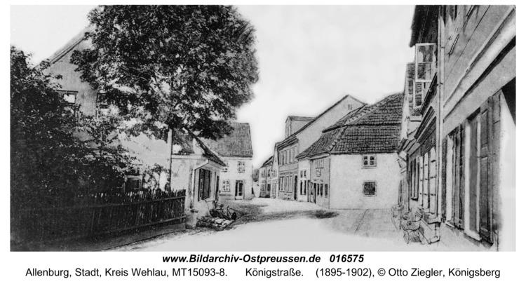 Allenburg, Königstraße