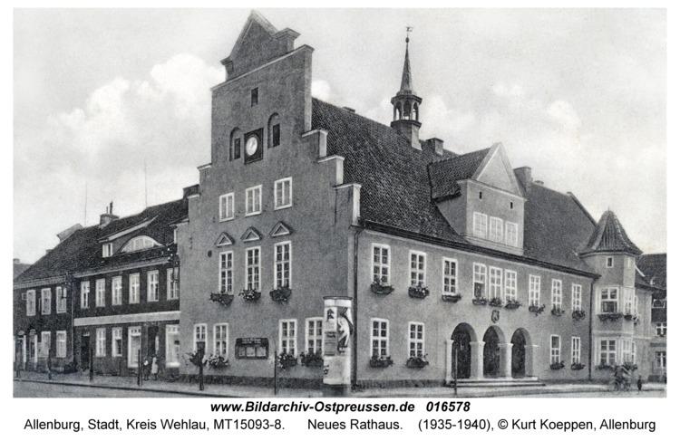 Allenburg, Neues Rathaus
