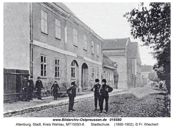 Allenburg, Stadtschule