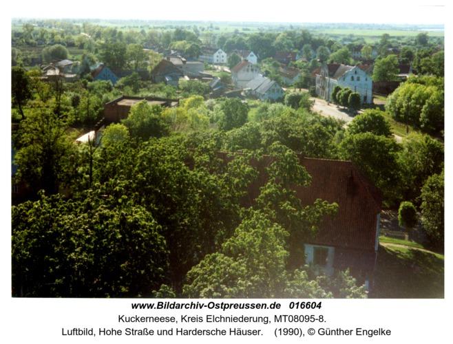 Kuckerneese, Luftbild, Hohe Straße und Hardersche Häuser