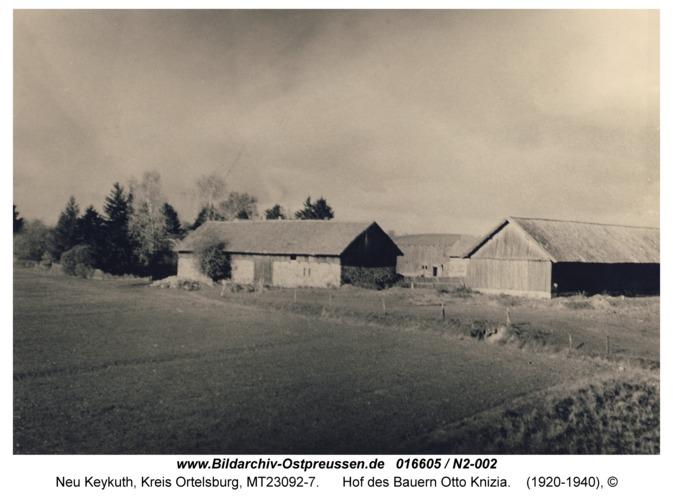 Neu Keykuth, Hof des Bauern Otto Knizia