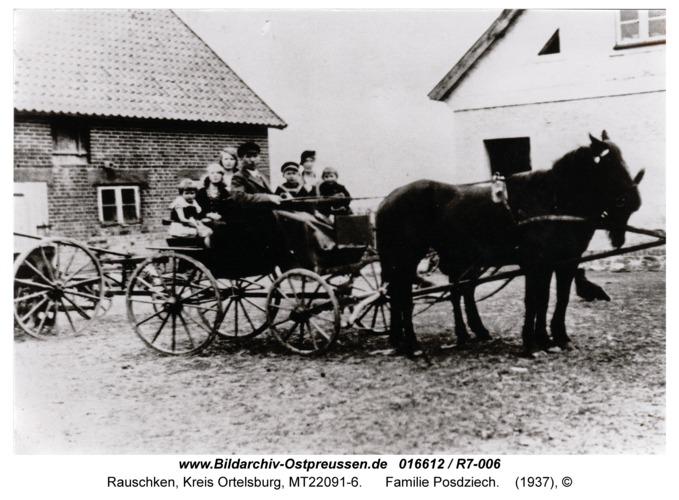 Rauschken, Familie Posdziech