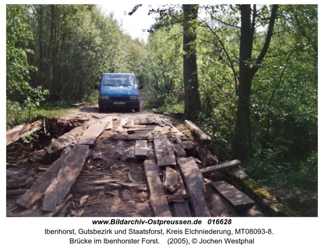 Ibenhorst, Brücke im Ibenhorster Forst