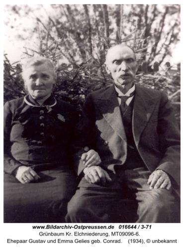 Grünbaum, Ehepaar Gelies
