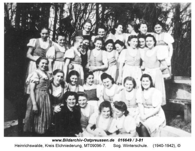 Heinrichswalde, Sog. Winterschule