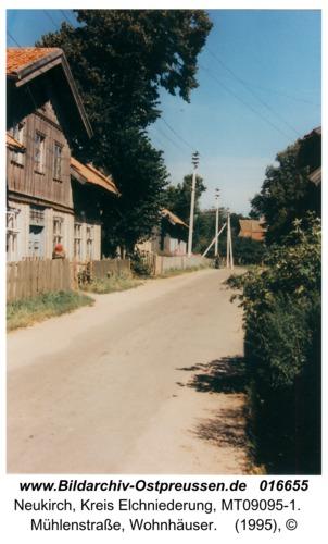 Neukirch, Mühlenstraße, Wohnhäuser