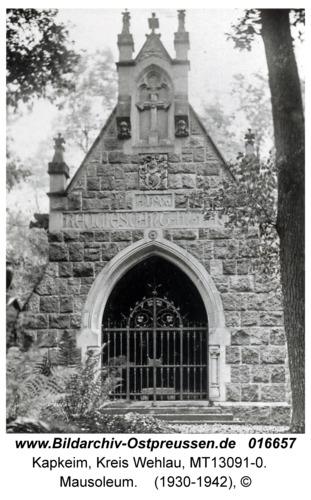 Kapkeim, Mausoleum