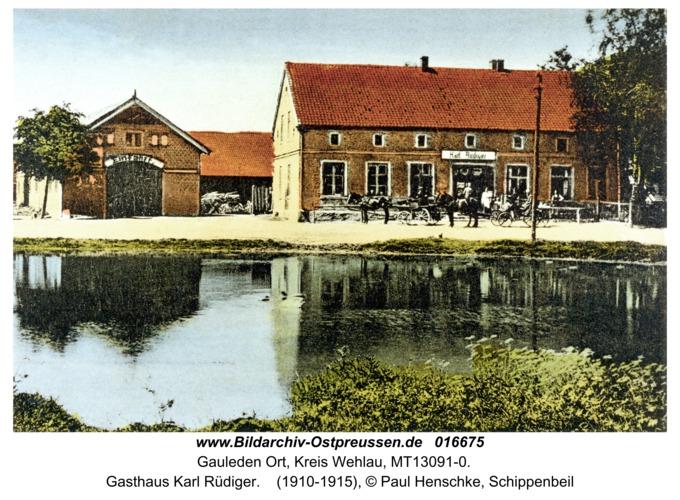 Gauleden, Gasthaus Karl Rüdiger