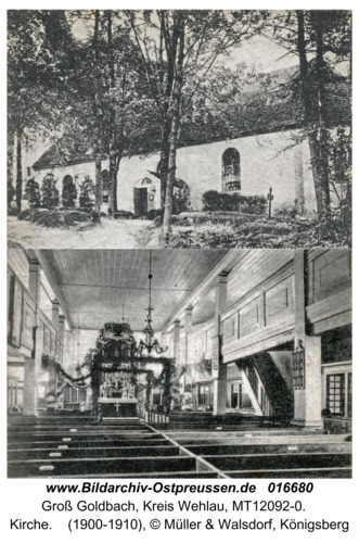 Goldbach Kr. Wehlau, Kirche