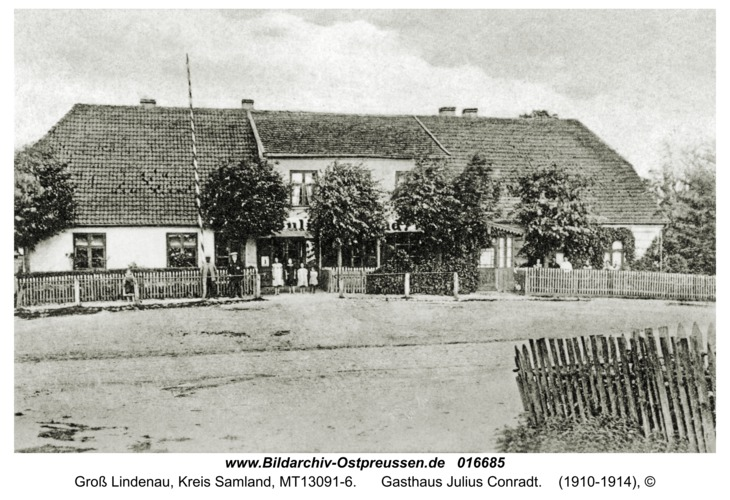 Groß Lindenau, Gasthaus Julius Conradt