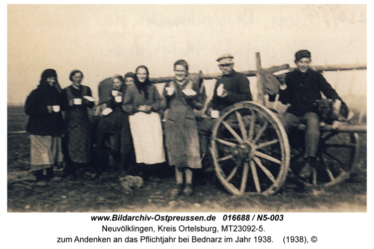 Neuvölklingen, zum Andenken an das Pflichtjahr bei Bednarz im Jahr 1938