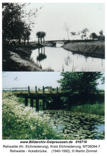 Rehwalde - Ackelbrücke