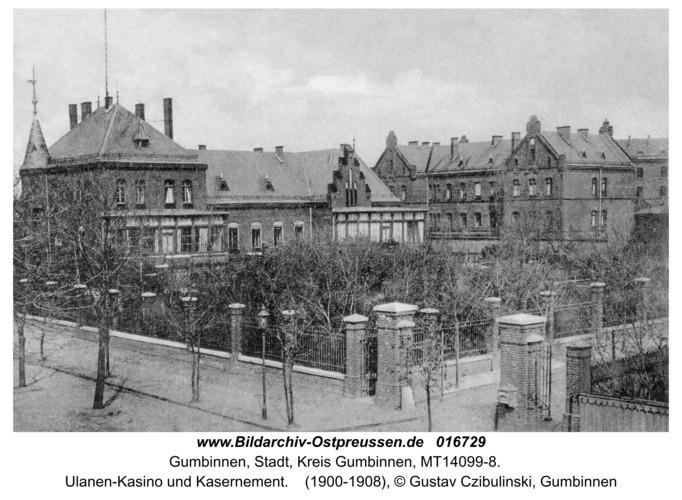 Gumbinnen, Ulanen-Kasino und Kasernement