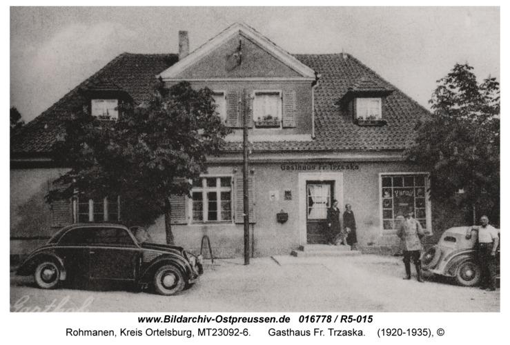 Rohmanen, Gasthaus Fr. Trzaska