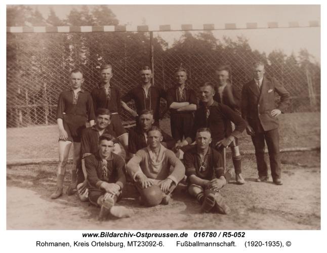 Rohmanen, Fußballmannschaft