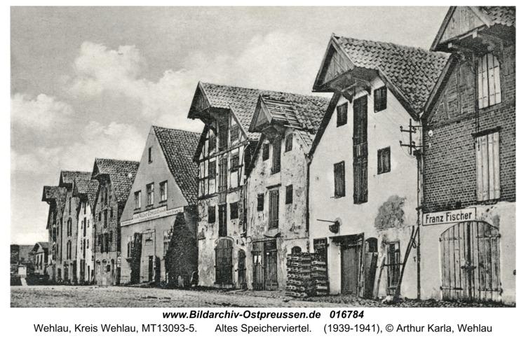 Wehlau, Altes Speicherviertel