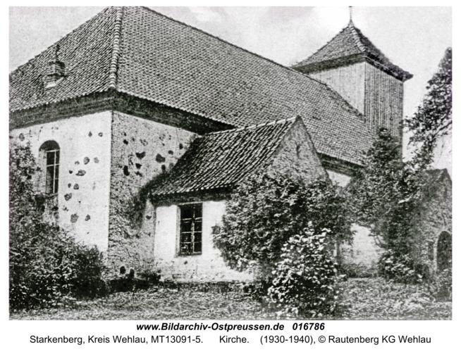 Starkenberg, Kirche