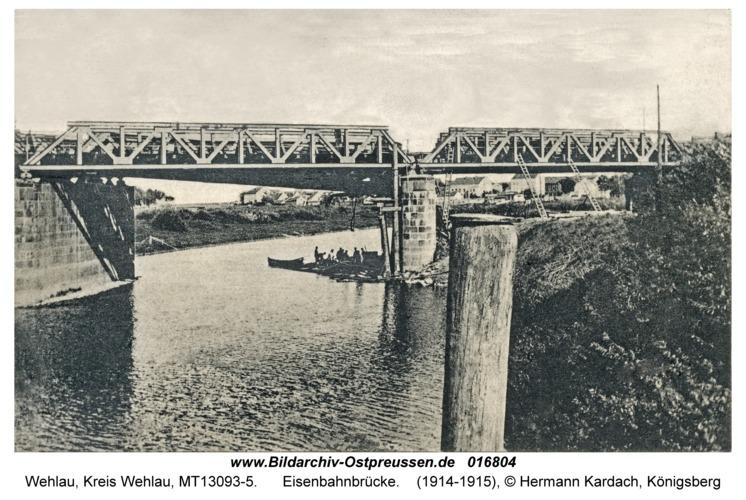 Wehlau, Eisenbahnbrücke