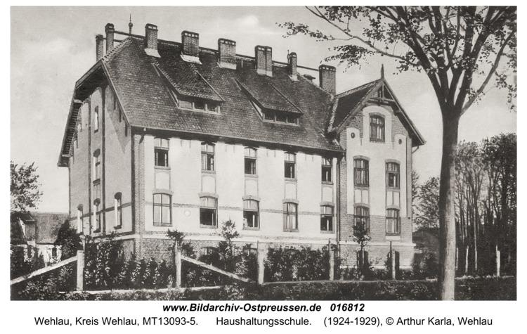 Wehlau, Haushaltungsschule