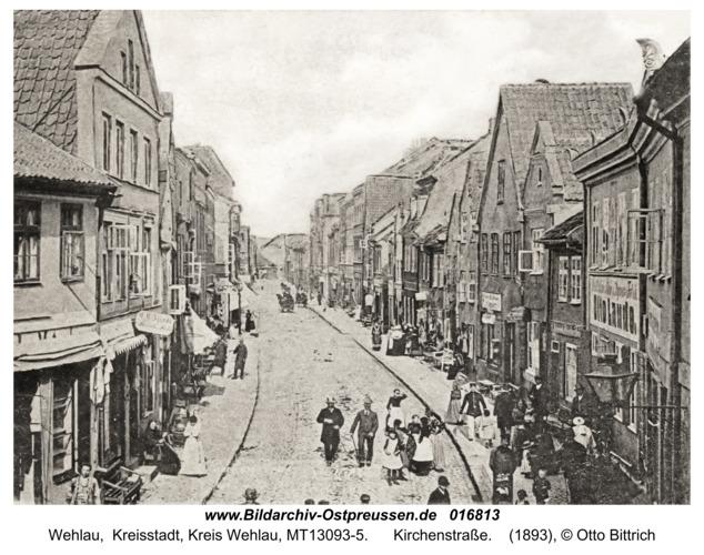 Wehlau, Kirchenstraße