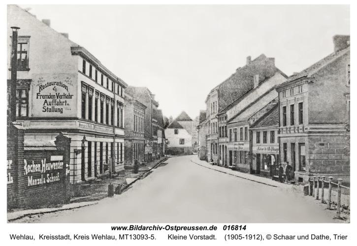 Wehlau, Kleine Vorstadt