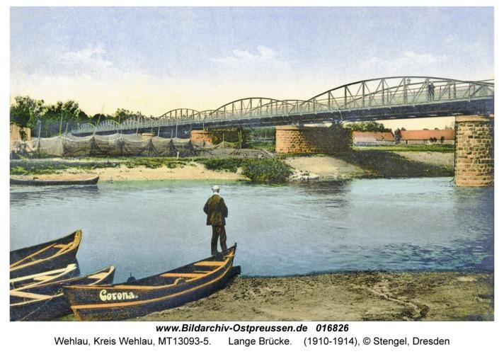 Wehlau, Lange Brücke