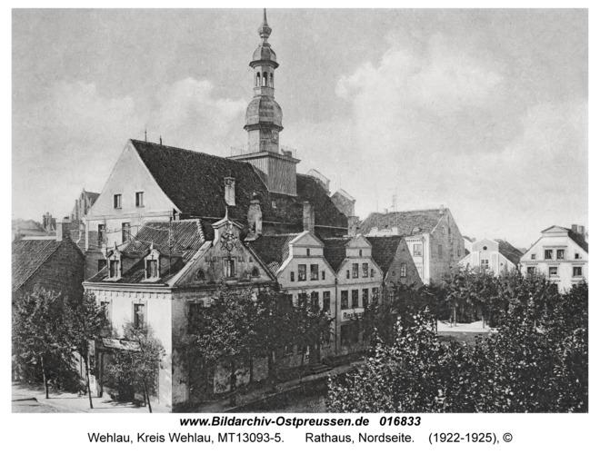 Wehlau, Rathaus, Nordseite