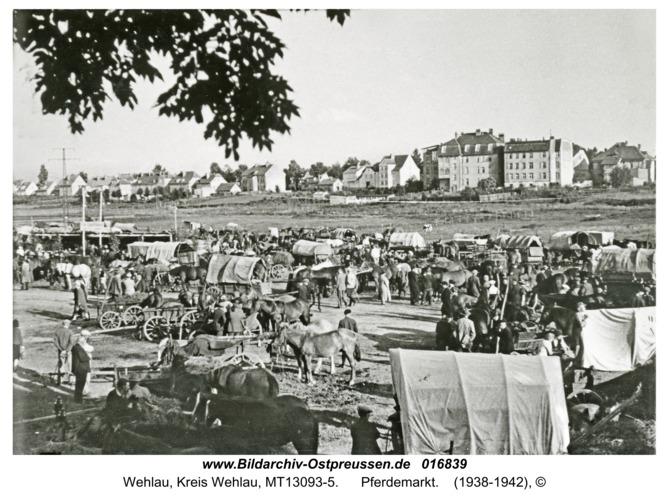 Wehlau, Pferdemarkt