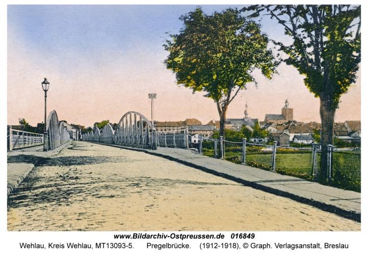 Wehlau, Pregelbrücke