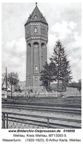 Wehlau, Wasserturm