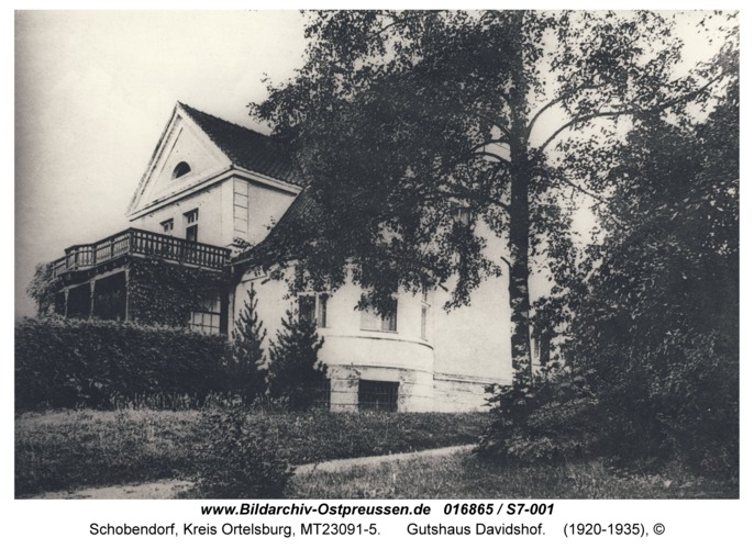Schobendorf, Gutshaus Davidshof