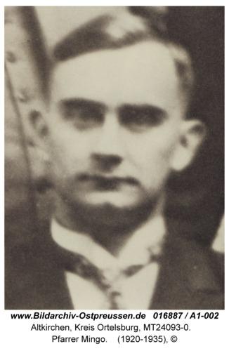 Altkirchen, Pfarrer Mingo