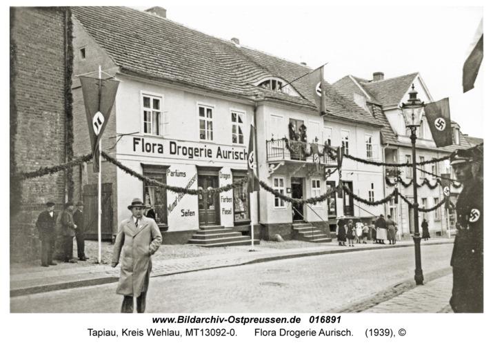 Tapiau, Flora Drogerie Aurisch