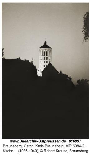 Braunsberg, Kirche