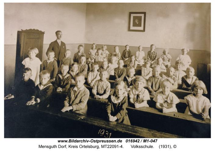 Mensguth, Volksschule