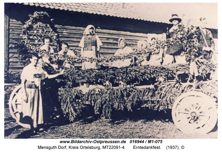 Mensguth, Erntedankfest