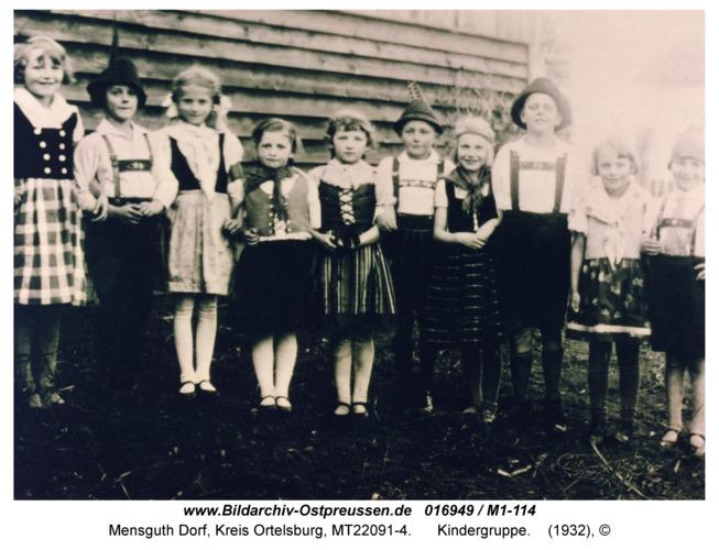 Mensguth, Kindergruppe