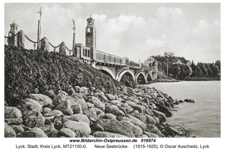 Lyck, Neue Seebrücke