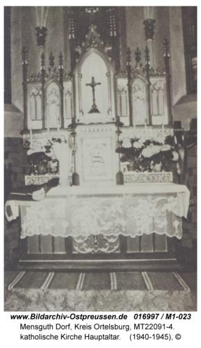 Mensguth, katholische Kirche Hauptaltar