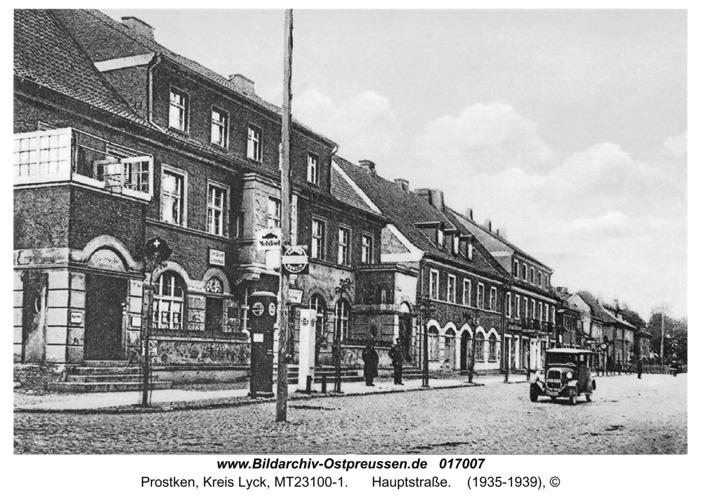 Prostken, Hauptstraße