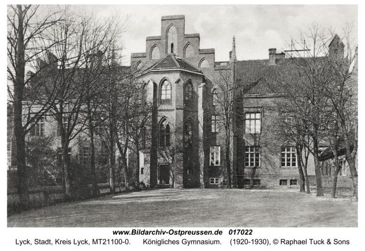 Lyck, Königliches Gymnasium