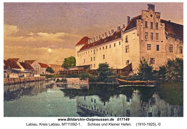 Labiau, Schloss und Kleiner Hafen