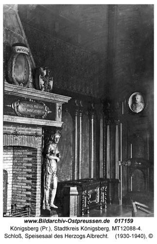 Königsberg, Schloß, Speisesaal des Herzogs Albrecht