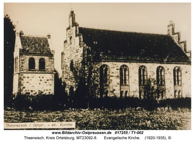 Theerwisch, evangelische Kirche
